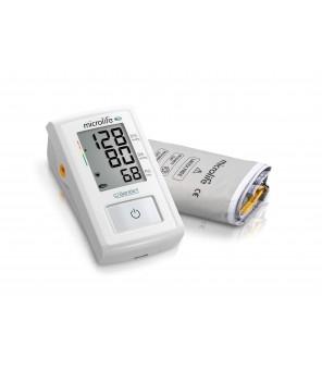 Misuratore di pressione automatico evoluto con tecnologia brevettata MAM (Microlife Average Mode) Easy